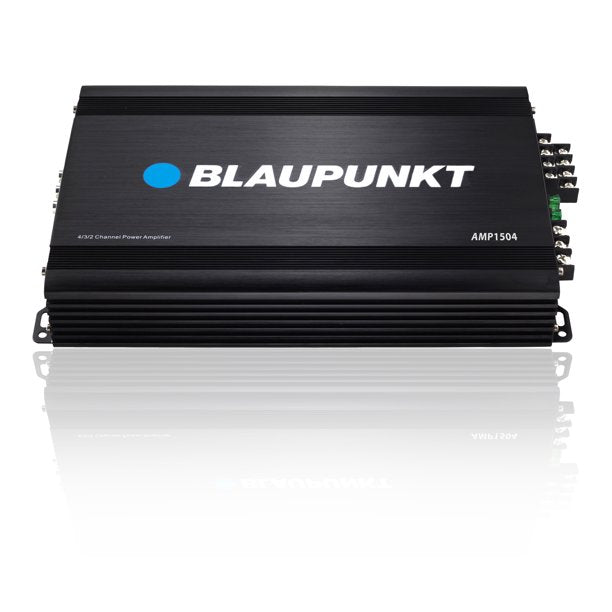 Blaupunkt AMP1504 Car Full-Range Amplifier 1500W 4-Channel Black Color