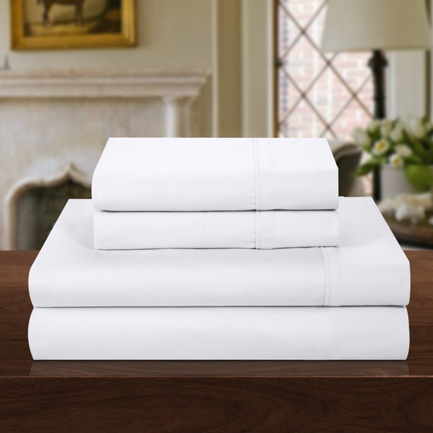 Chic Home 1000 Thread Count 4 Piece Cotton Rich Luxury Sheet Set