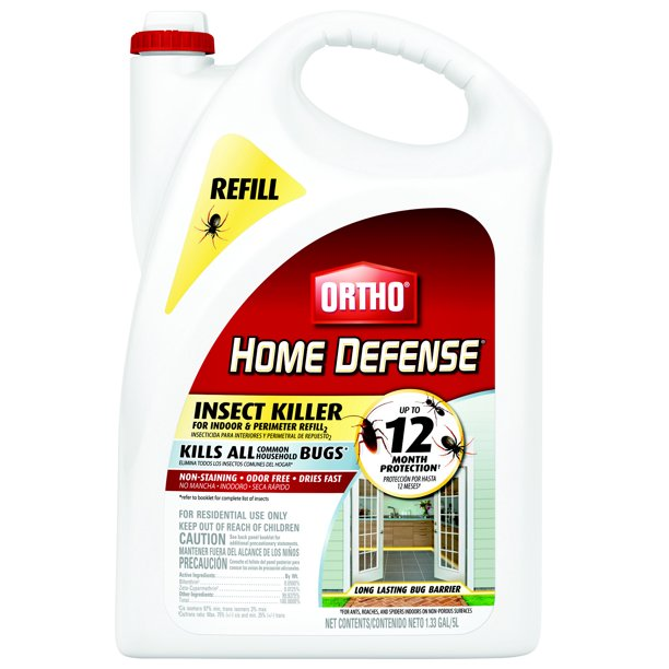 Ortho Home Defense Insect Killer for Indoor & Perimeter Refill 2, 1.33 gal.