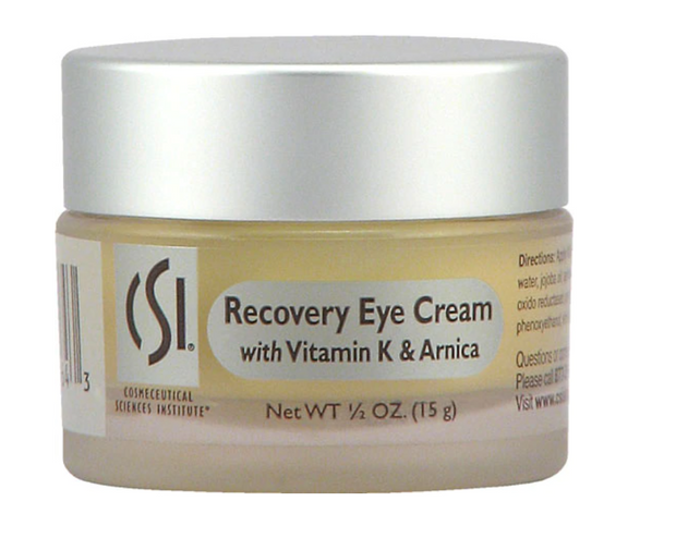 CSI Recovery Eye Cream with Vitamin K & Arnica - Non-GMO -- 0.5 oz