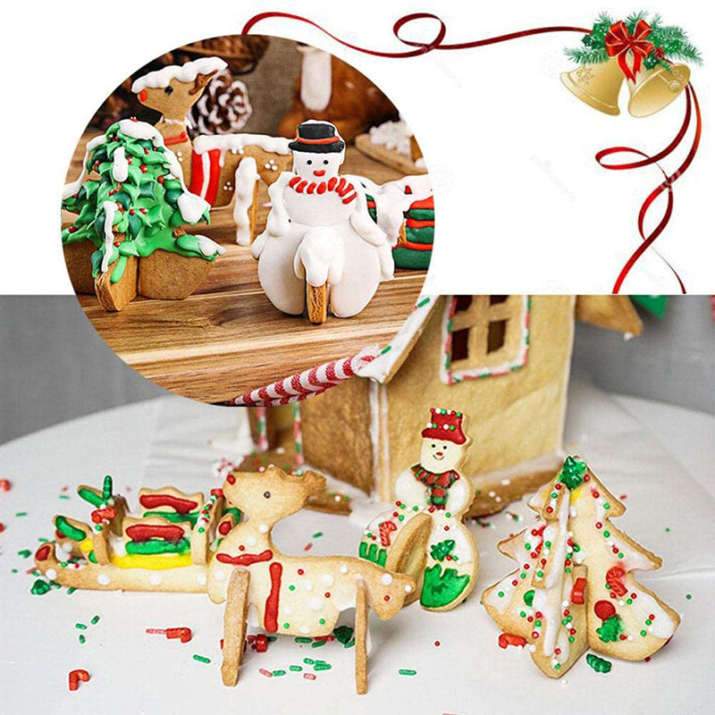 Stainless Steel Christmas Cookie Mold