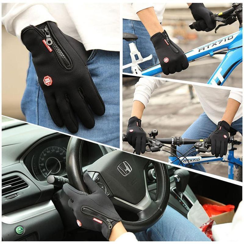 Touch Screen Windproof Thermal Gloves