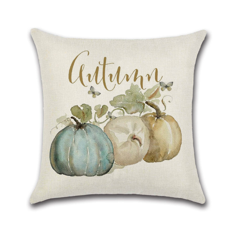 Soft Linen Pillow Case Cushion Cover