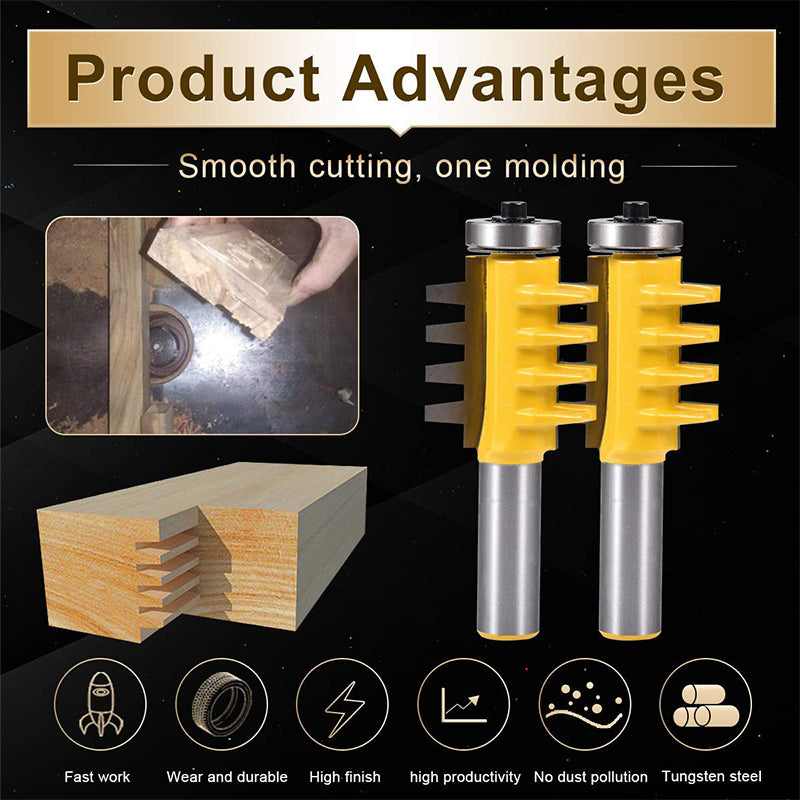 The Tongue & Groove Milling Router Bit