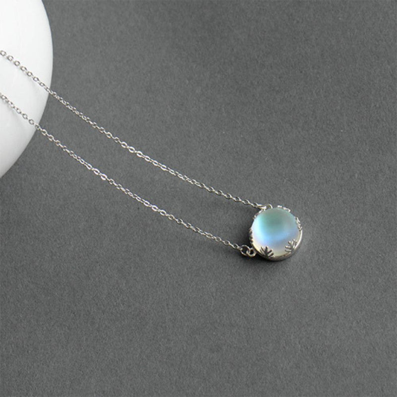 Aurore Borealis Silver Necklace