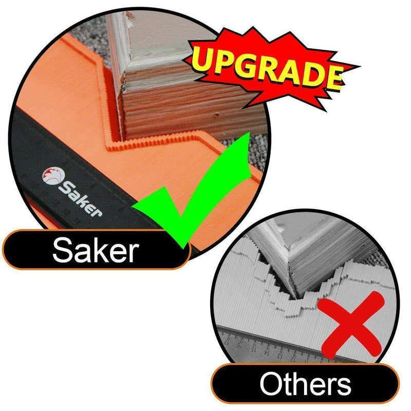Saker Contour Gauge Profile Tool - Upgraded Version