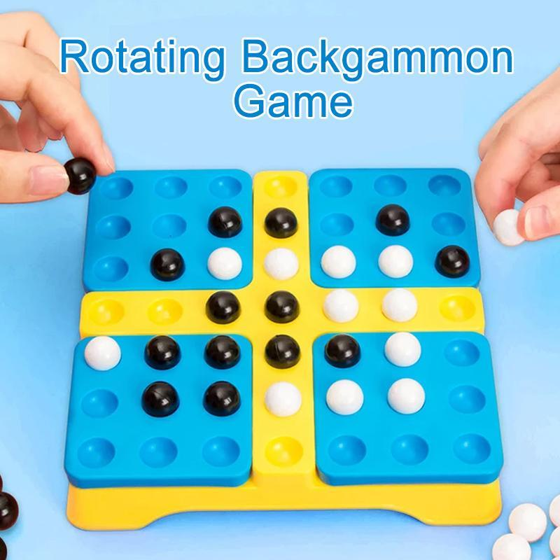 URlife™ Rotating Backgammon Game