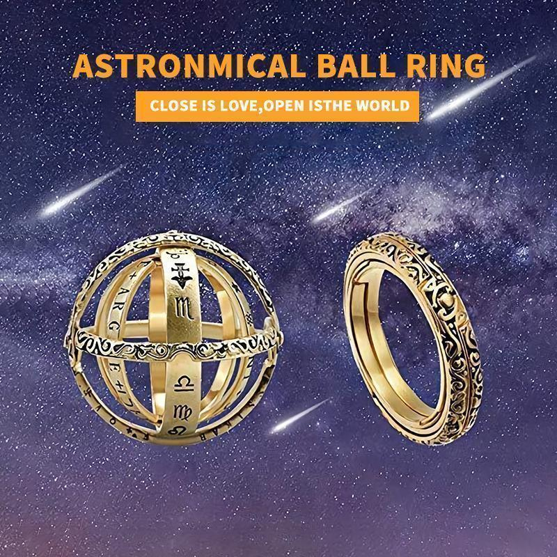 Astronomical Ring-Closing is Love, Opening is the World