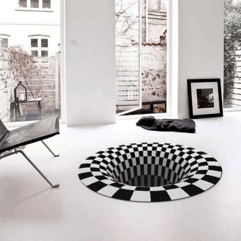 Vortex Illusion Rug