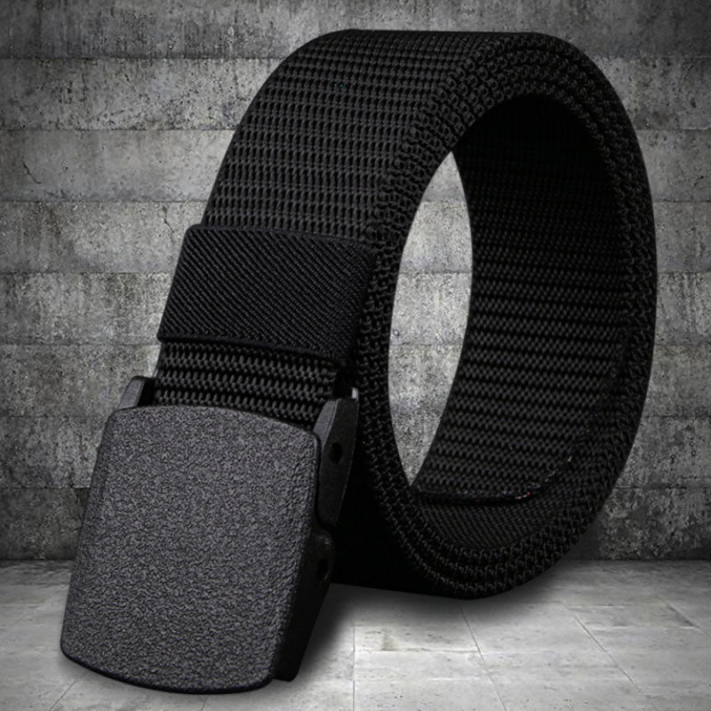 Non-Metallic Non-Magnetic Buckle Nylon Belt