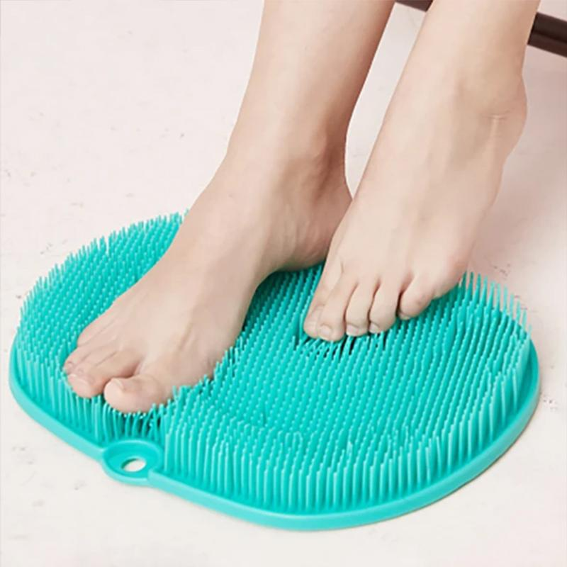 Silicone Foot Scrubber Massager Pad