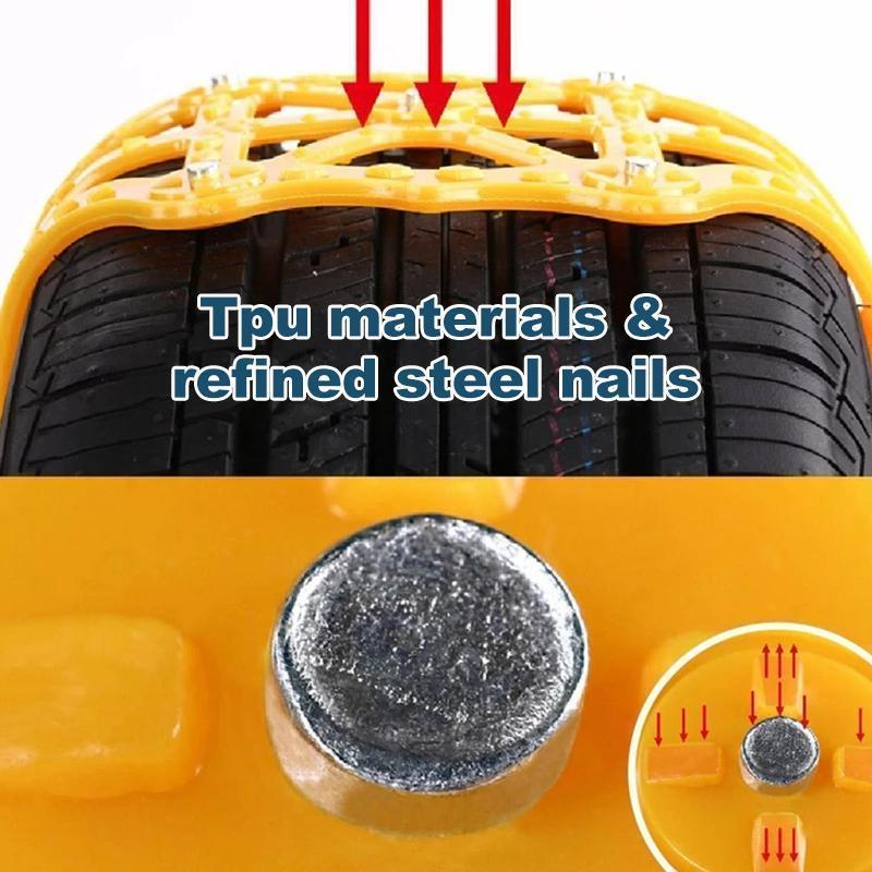 Anti-Skid Emergency Snow Tire Chains