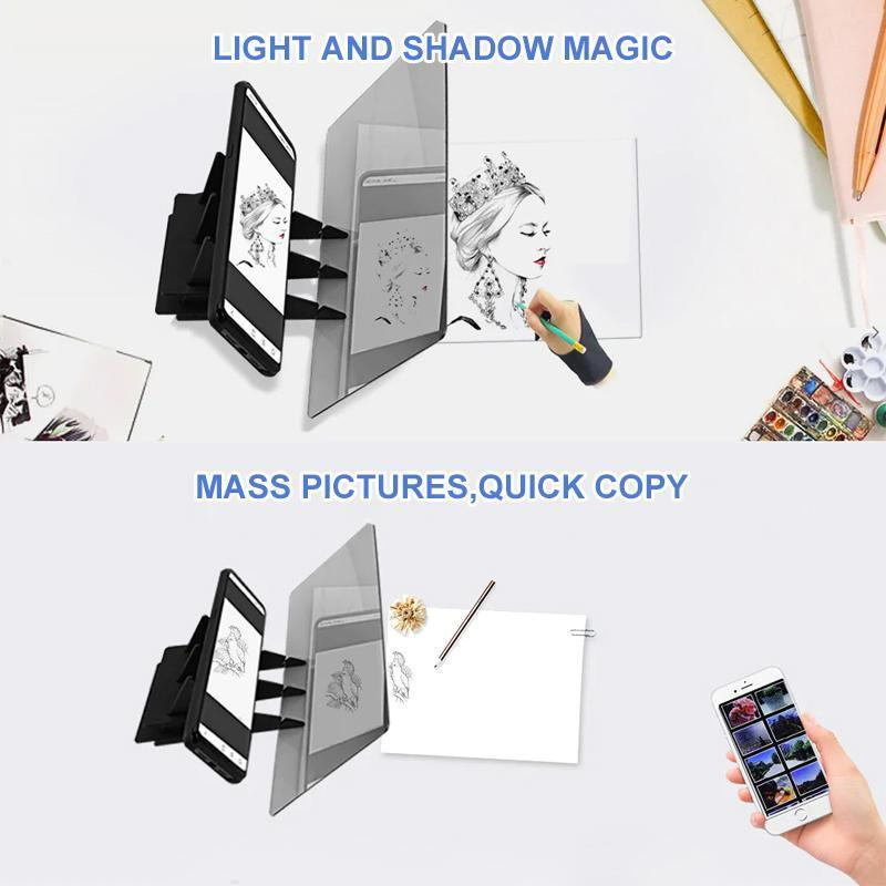 Drawing Projector Copyboard (1 set)