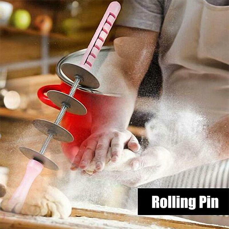Plastic Rolling Pin for Croissant Baking