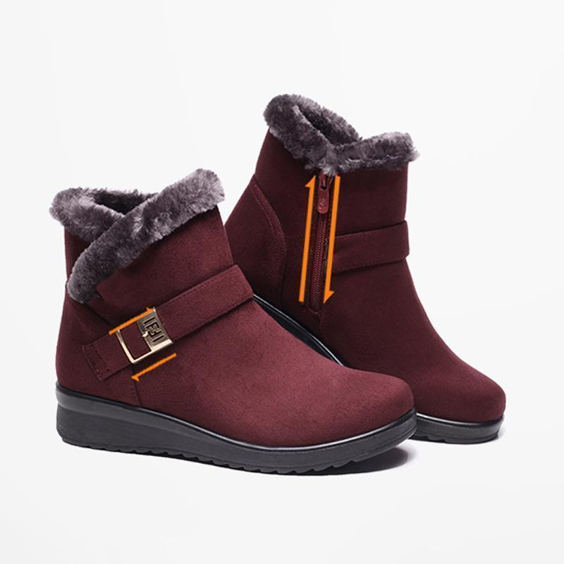 Women's Snow Boots with Fur