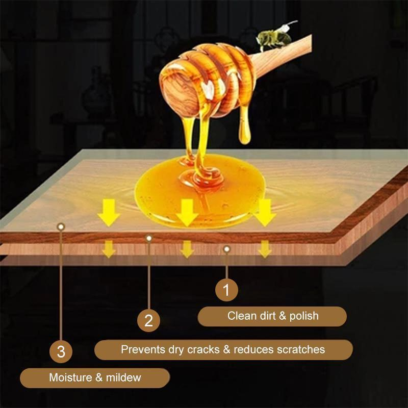 Urlife™ Natural Beewax, furniture care polishing