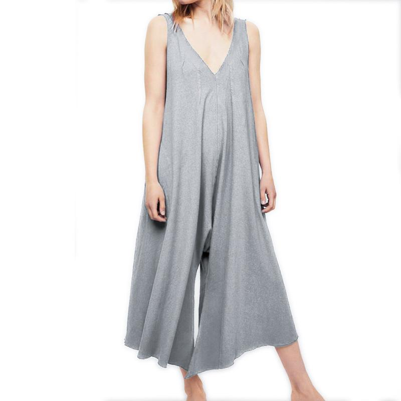 Fashion loose jumpsuit
