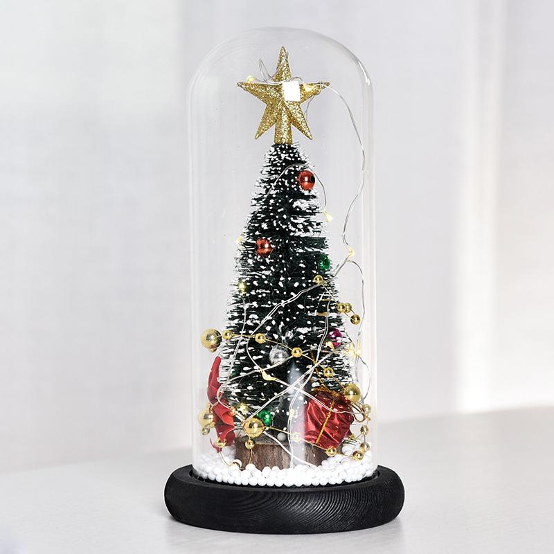 LED Christmas Tree Gold Star Lamp