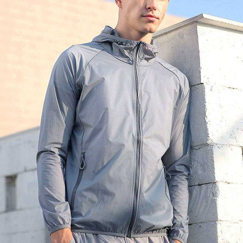 Lightweight Hooded Jackets Sun Protection+Quick Dry Windproof Packable
