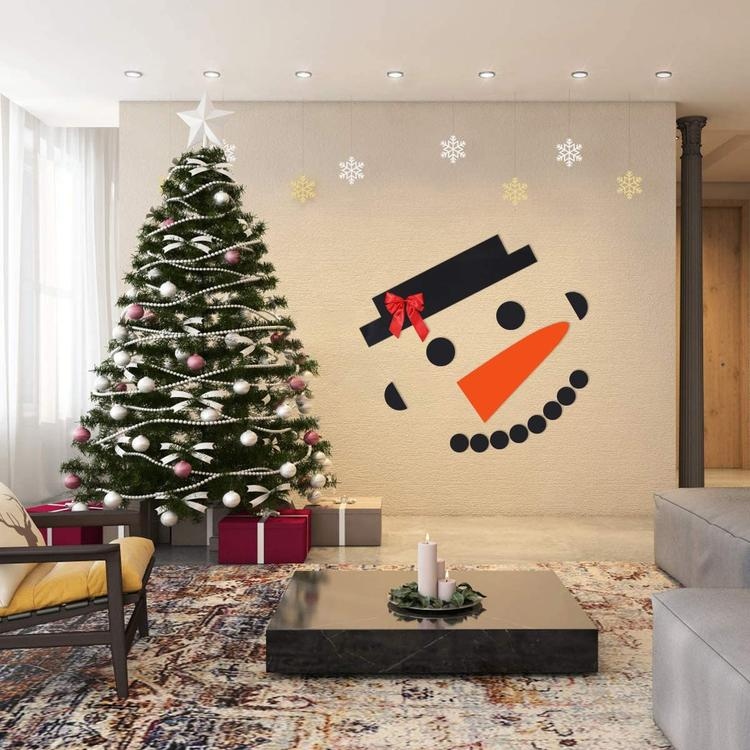 GARAGE DOOR SNOWMAN (16PCS SET)