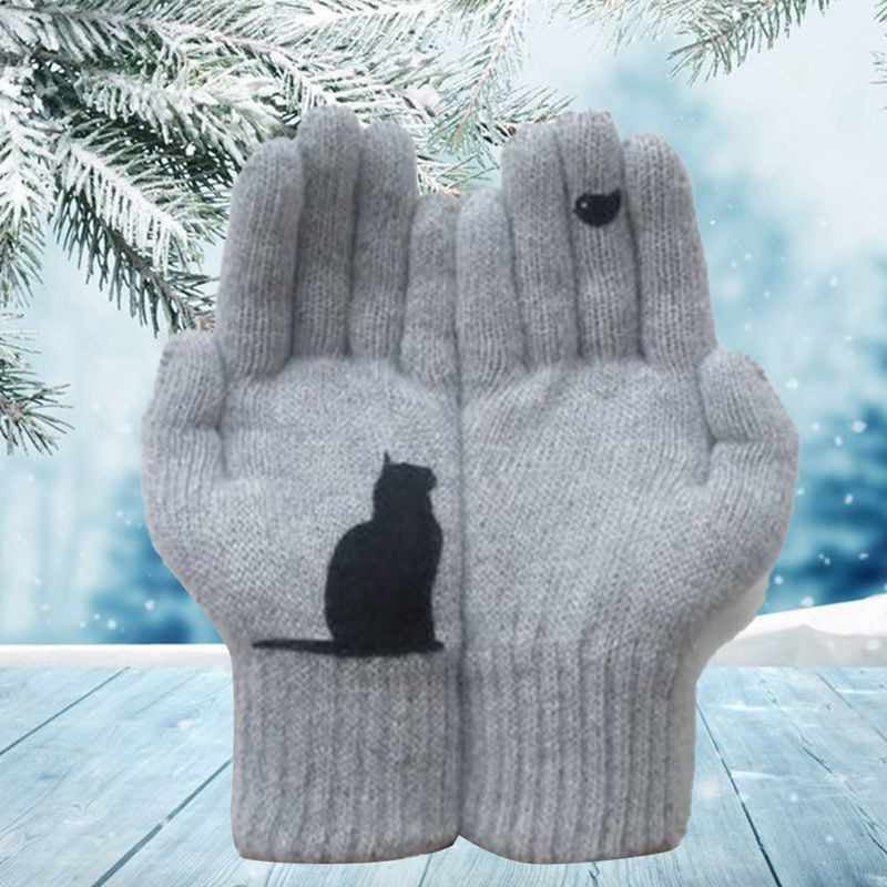 Cat Fan Cotton Gloves