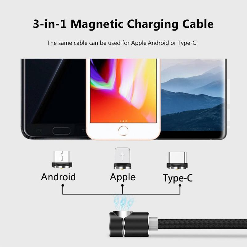 Hirundo® 3-in-1 Magnetic Charging Cable - mygeniusgift