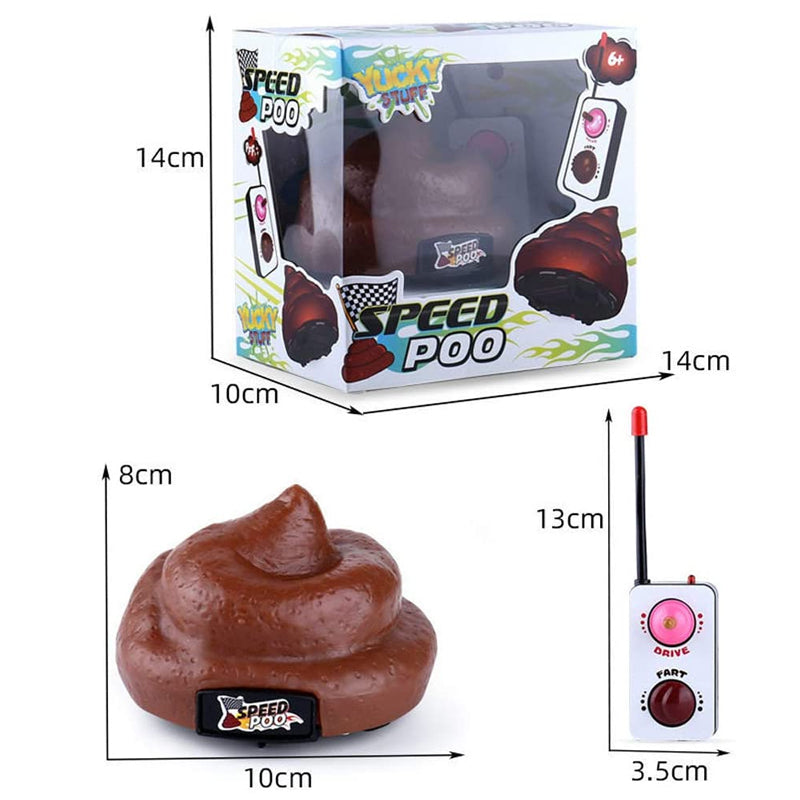Remote Control Poop Car Toy