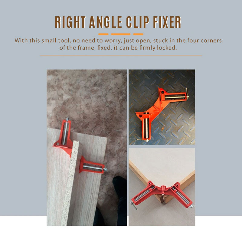 Urlife™ 90 Degree Right Angle Clip