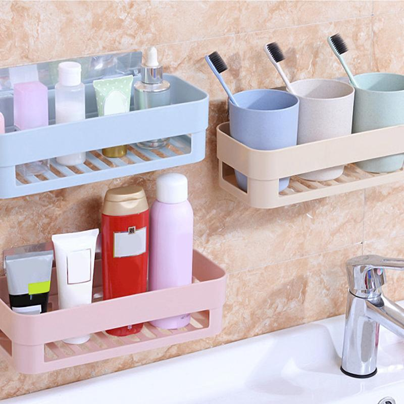 Bathroom drain rack