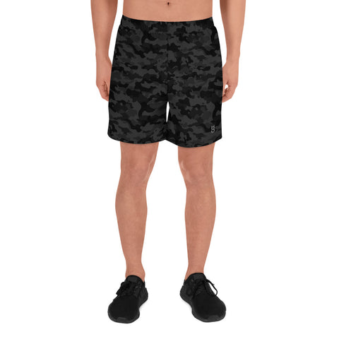 Men's camo Long Logo Shorts