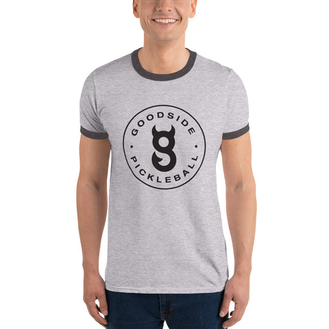 Men's Ringer T-Shirt Circle Logo