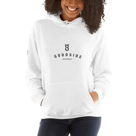 Unisex Stacked logo Hoodie