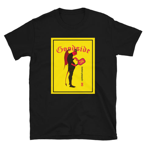 Short-Sleeve Unisex T-Shirt vintage devil