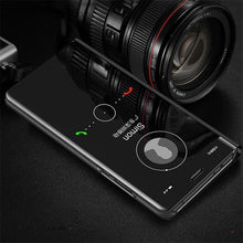 Load image into Gallery viewer, Vivo V11 Mirror Clear View Flip Case [Non Sensor Working]