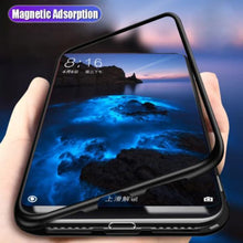 Load image into Gallery viewer, Vivo V15 Pro Electronic Auto-Fit Magnetic Transparent Glass Case
