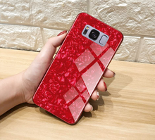 Load image into Gallery viewer, Galaxy S8 Dream Shell Series Textured Marble Case