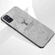 Load image into Gallery viewer, Galaxy A71 Deer Pattern Inspirational Soft Case