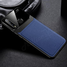 Load image into Gallery viewer, Galaxy M40 Sleek Slim Leather Glass Case