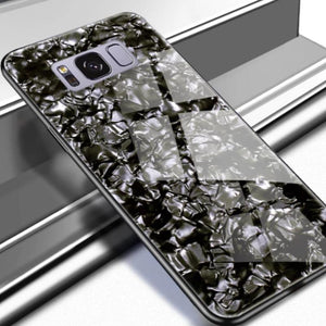 Galaxy S8 Dream Shell Series Textured Marble Case