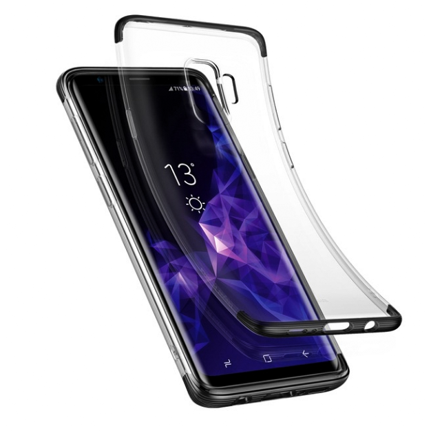 Galaxy S9 Plus Shockproof TPU Transparent Case