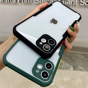 iPhone 11 Pro max Shockproof Bumper Phone Case with Camera Protection