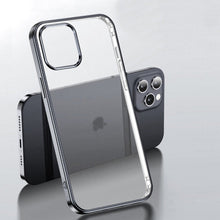 Load image into Gallery viewer, iPhone 12 Series Electroplating Silicone Transparent Glitter Case