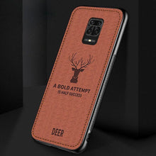 Load image into Gallery viewer, Redmi Note 9 Pro Max (2 in 1 Combo) Deer Pattern Case + Earphones