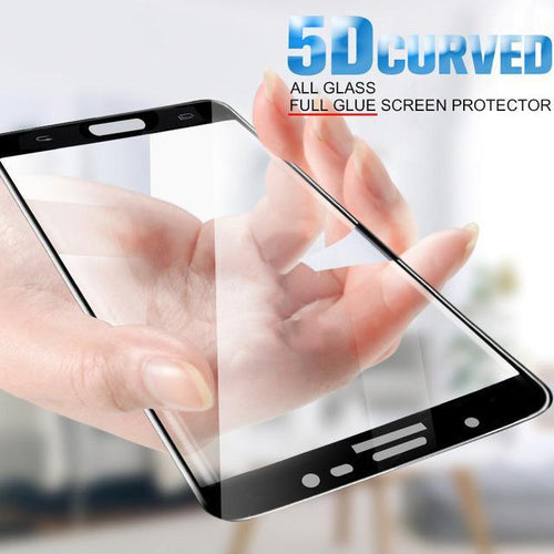 Galaxy S7 Edge 5D Curved Edge Tempered Glass