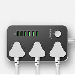 LDNIO ® Universal Power Socket with Multiple USB Charger Adapter