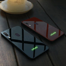 Load image into Gallery viewer, Vivo V11 Radium Glow Light Illuminated Logo 3D Case