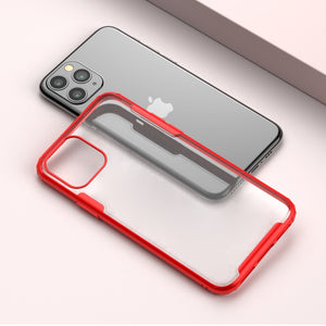 iPhone 11 Pro Max Cover Matte Transparent Case