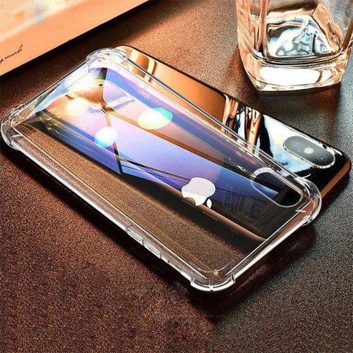 MK ® iPhone X King Kong Anti Knock TPU Transparent Case