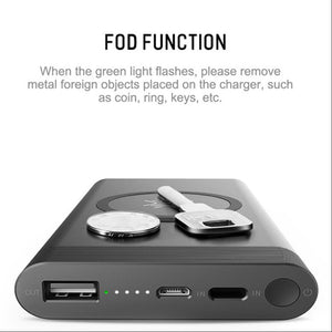 MK® ROCK 10000mAh Wireless Charger Power Bank