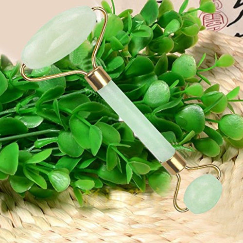 Natural Jade Facial Massage Stone Roller